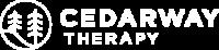 Cedar Way Logo Tealwhite